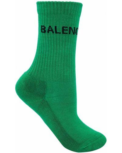 Зеленые колготки Balenciaga