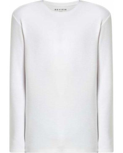Biały sweter bawełniany Review