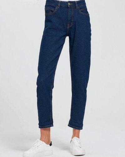 Прямые синие джинсы Terranova