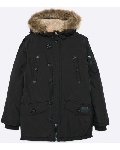 Куртка теплая черная Brave Soul