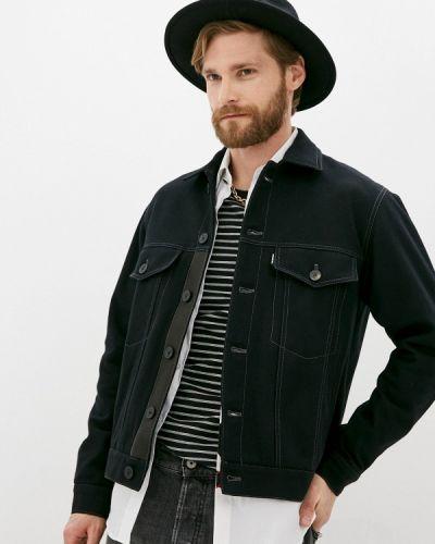 Джинсовая куртка - черная The Kooples
