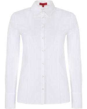 Длинная рубашка - белая Hugo Boss