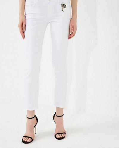 Белые джинсы-скинни Liu Jo