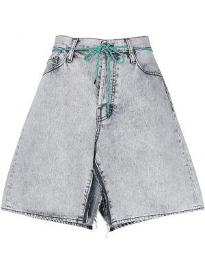 Хлопковая юбка мини на молнии классическая Aries