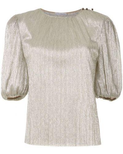 Блузка с люрексом прямая НК