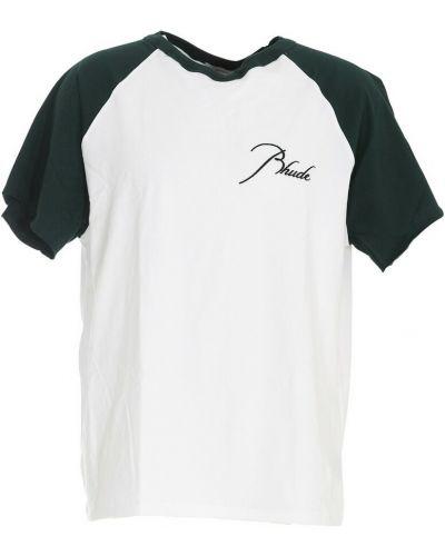 Zielona t-shirt Rhude