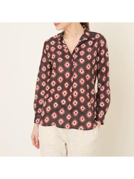 Шелковая блузка - черная Diega