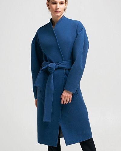 Голубое пальто весеннее Grass