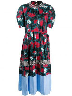 Платье мини миди пэчворк Marni