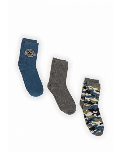 Носки синие коричневый Infinity Kids
