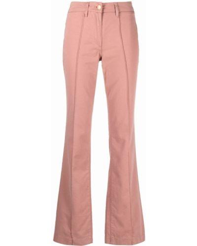Хлопковые брюки - розовые Lautre Chose