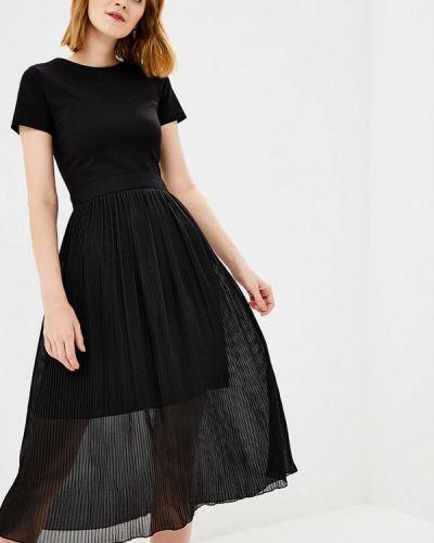 Вечернее платье черное Chapurin