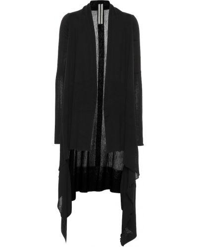 Кардиган черный длинный Rick Owens