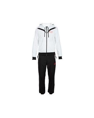 Белый спортивный костюм Ea7