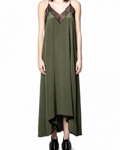 Платье - зеленое Zadig & Voltaire