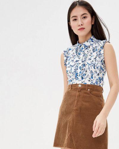 Блузка без рукавов белая весенний Liu Jo