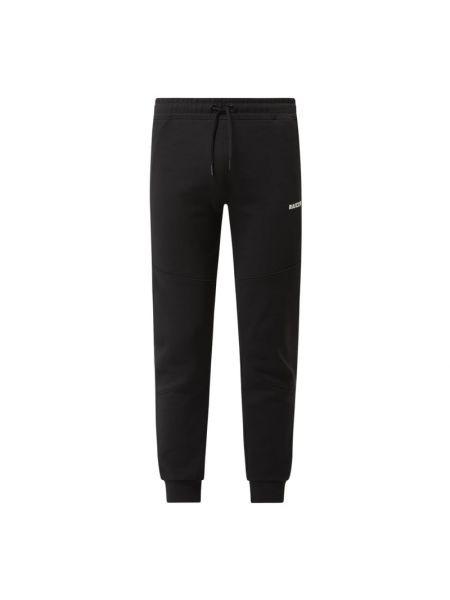 Czarne spodnie dresowe bawełniane Raizzed