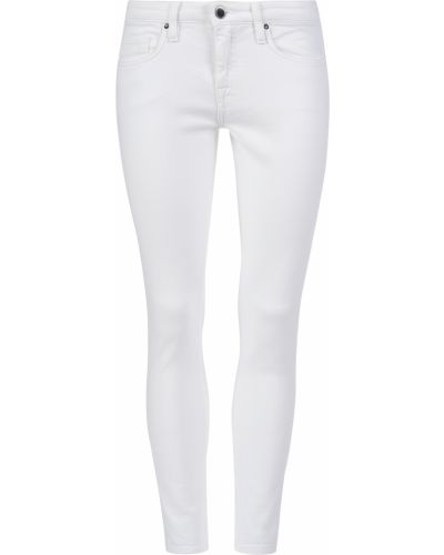 Хлопковые джинсы - белые Victoria Beckham