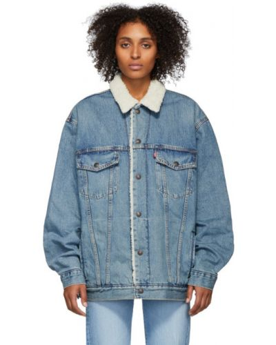 Джинсовая куртка длинная с карманами Levi's®