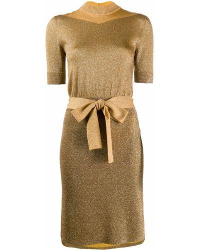 Платье с поясом с завышенной талией для невысоких Missoni