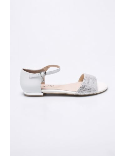 Белые сандалии Caprice
