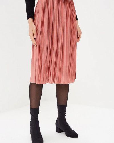 Плиссированная юбка розовая Jacqueline De Yong