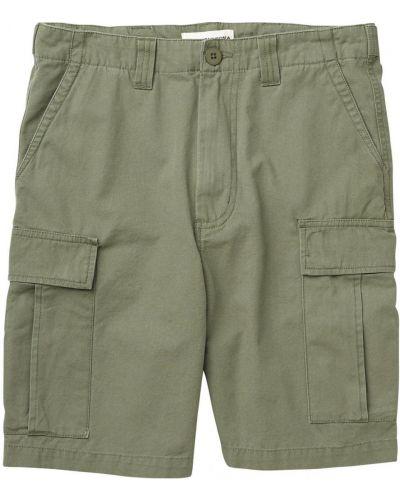 Шорты карго зеленый шорты-чиносы Burton