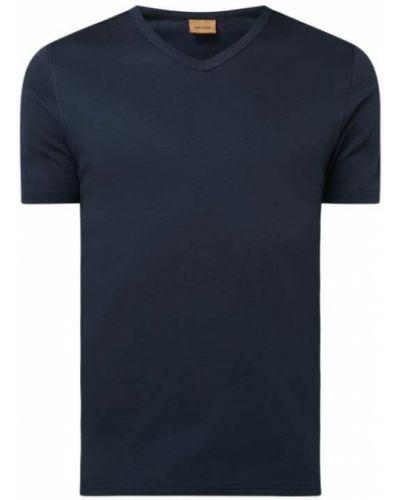 T-shirt bawełniana - niebieska Mos Mosh