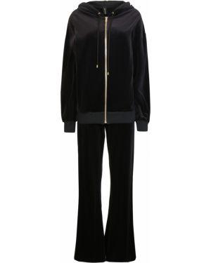 Бархатный костюм - черный Alexandre Vauthier