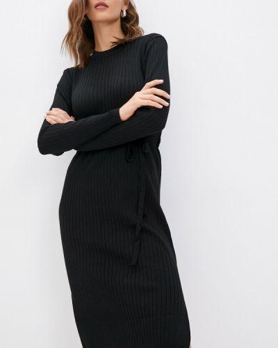 Черное платье осеннее Izabella