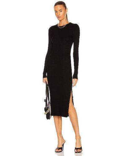 Повседневное платье миди - черное Enza Costa