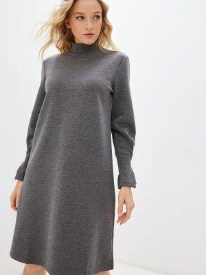 Платье свитер - серое Savage