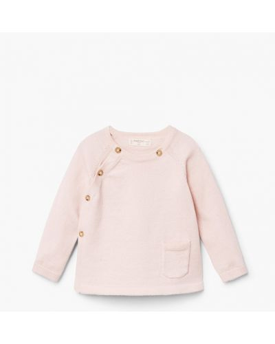 Розовый свитер Mango Kids