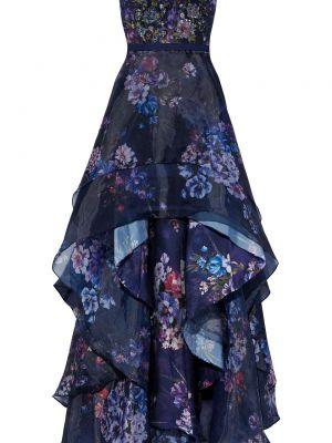 Sukienka wieczorowa asymetryczna z cekinami na obcasie Marchesa Notte