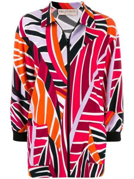 Куртка на молнии с карманами Emilio Pucci
