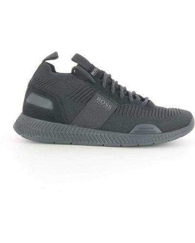 Czarne sneakersy Hugo Boss