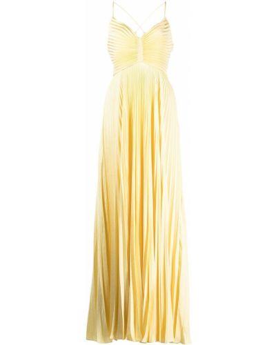 Платье макси - желтое Alc