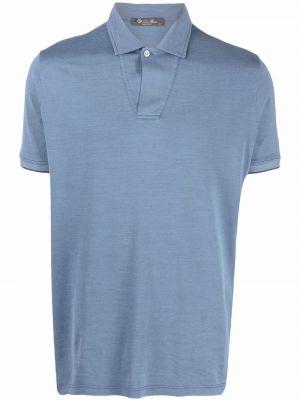 Niebieska koszula bawełniana Loro Piana