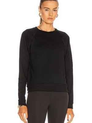 Текстильный черный пуловер с рукавом реглан Beyond Yoga