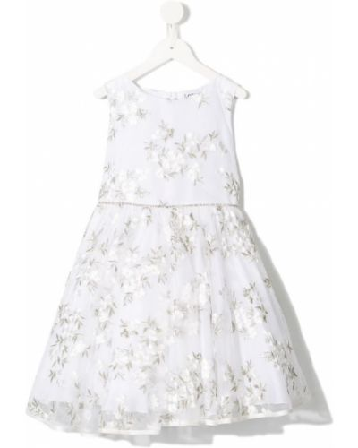 Платье с рукавами из фатина без рукавов Lesy