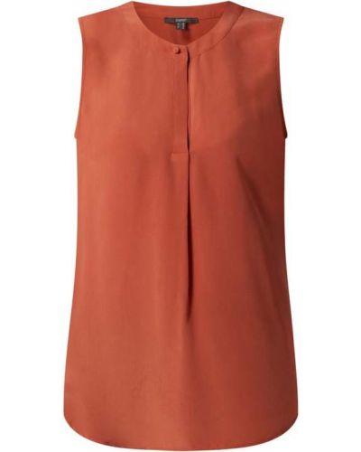 Pomarańczowa bluzka z wiskozy Esprit Collection