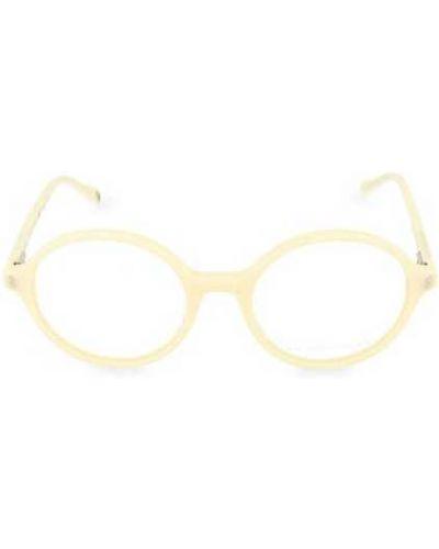 Białe okulary Stella Mccartney