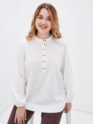 Блузка - белая Zizzi