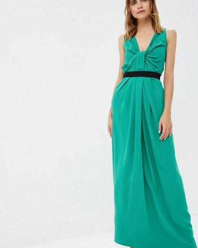 Вечернее платье осеннее зеленый Lolita Shonidi