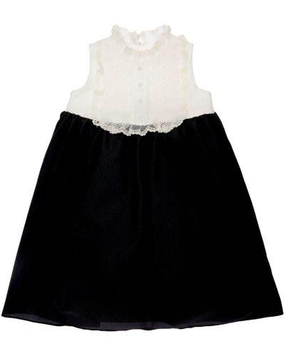 Кружевное платье на кнопках с тиснением Mi.mi.sol.