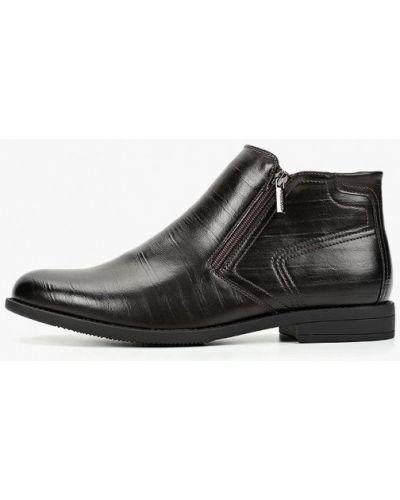 Коричневые кожаные ботинки T.taccardi