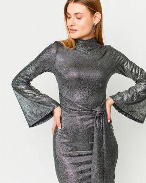 Черное вечернее платье Karree