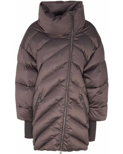 Пуховик пальто с воротником-стойкой Naumi