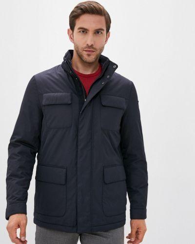 Теплая синяя куртка Geox