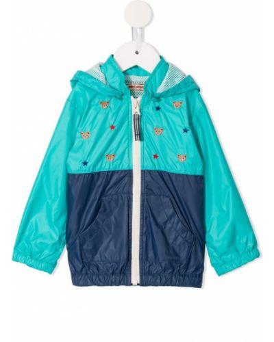 Синяя водонепроницаемая куртка Miki House